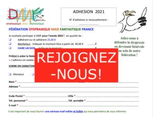 Adhésion 2021
